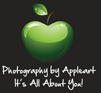 Photography by Appleart logo
